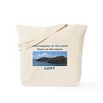 Lost, The Island Tote Bag