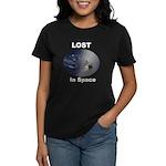 Lost, The Island In Space Women's Dark T-Shirt
