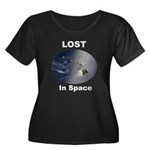Lost, The Island In Space Women's Plus Size Scoop