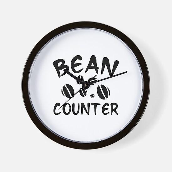 Bean Counter Wall Clock