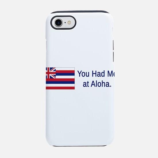 Hawaii Humor #2 iPhone 7 Tough Case