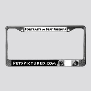 Pets Pictured.com Promo License Plate Frame