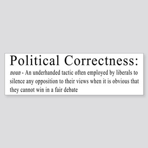 Political Correctness Definition 2 Bumper Sticker