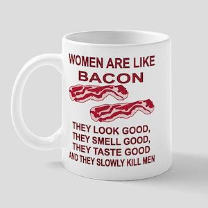 Women Are Like Bacon Mug