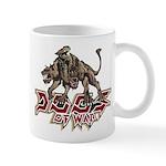 Dogs of War logo (for light background) Mugs