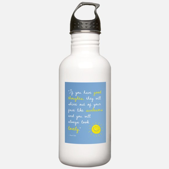 If You Have Good Thoughts Water Bottle