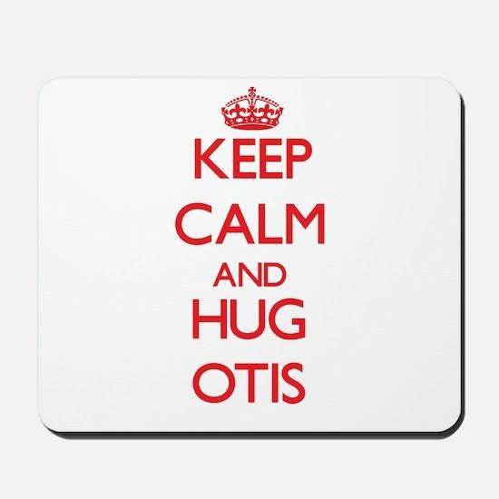 Keep Calm and HUG Otis Mousepad