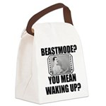 Overly Manly Man BeastMode Canvas Lunch Bag
