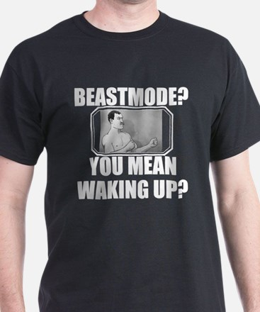 Overly Manly Man BeastMode T-Shirt