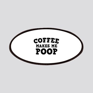 Coffee Makes Me Poop Patches