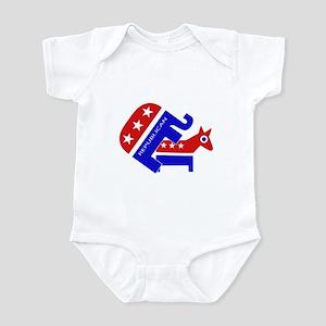 GOP Elephant Humping Donkey Infant Bodysuit