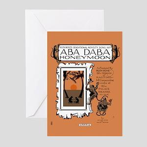 Aba Daba Honeymoon -- Greeting Cards (Pk of 10)