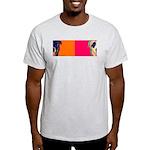 American Bulldog Ash Grey T-Shirt