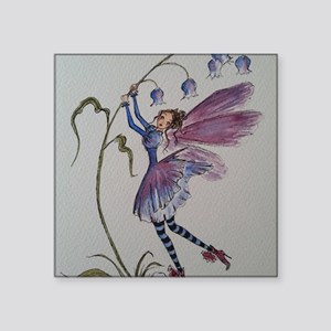 """Bluebell Fairy Square Sticker 3"""" x 3"""""""