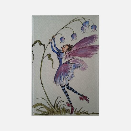 Bluebell Fairy Rectangle Magnet