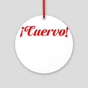 San Lorenzo Cuervo Ornament (Round)