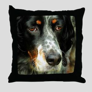 Radar: Llewellyn Setter Throw Pillow