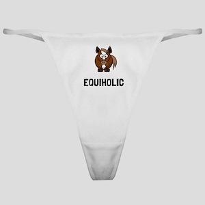 Equiholic Horse Classic Thong