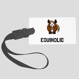 Equiholic Horse Luggage Tag