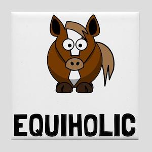 Equiholic Horse Tile Coaster
