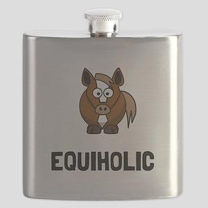Equiholic Horse Flask