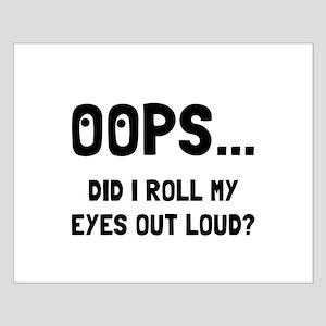 Eye Roll Posters
