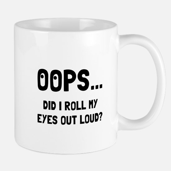 Eye Roll Mugs