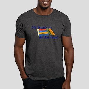Books Best Friends Dark T-Shirt