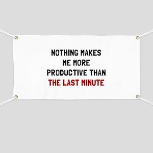 Last Minute Banner