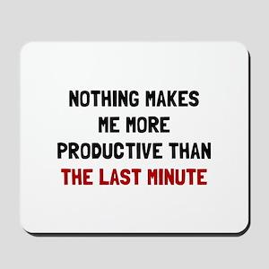 Last Minute Mousepad
