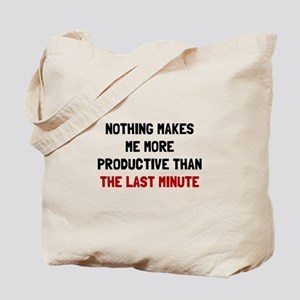 Last Minute Tote Bag