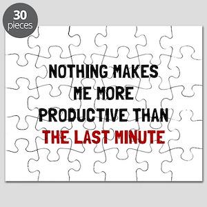 Last Minute Puzzle