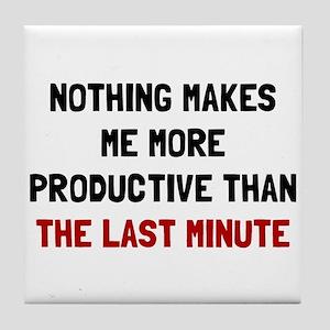 Last Minute Tile Coaster