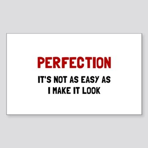 Perfection Easy Sticker