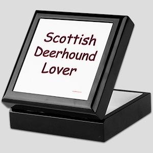 Deerhound Lover Keepsake Box