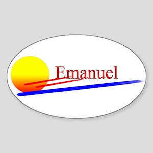 Emanuel Oval Sticker