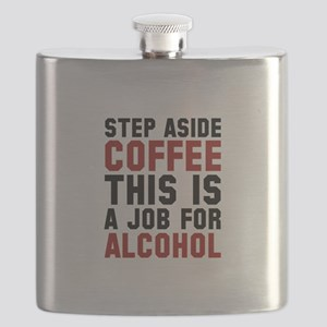 Step Aside Coffee This Is A Job For Alcohol Flask