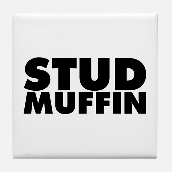 Stud Muffin Tile Coaster