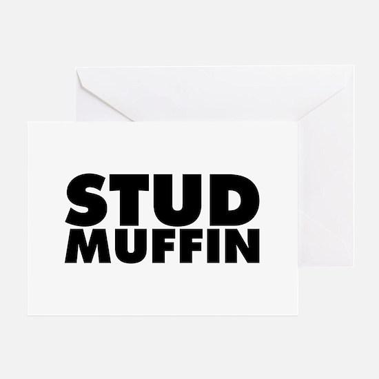 Stud Muffin Greeting Card