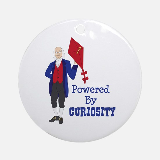 Powered By CURIOSITY Ornament (Round)