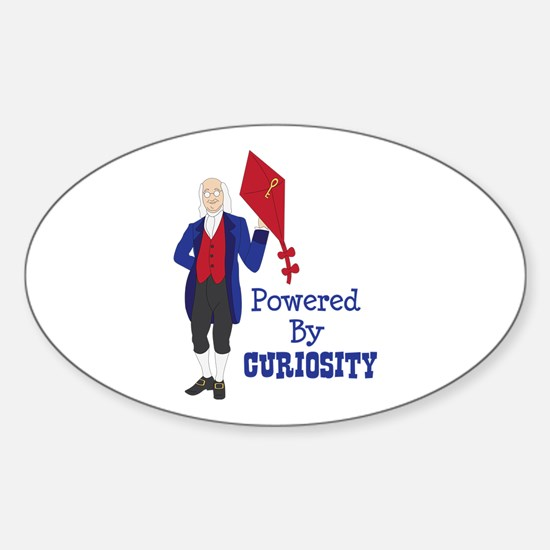 Powered By CURIOSITY Decal
