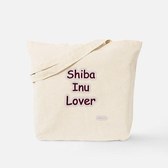 Shiba Inu Lover Tote Bag
