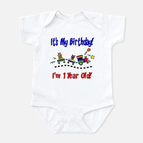 Train 1st Birthday Infant Bodysuit