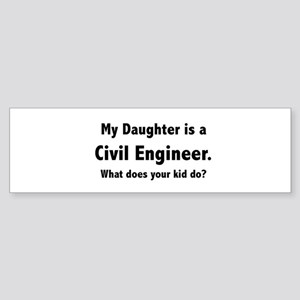 civ_white_d Bumper Sticker