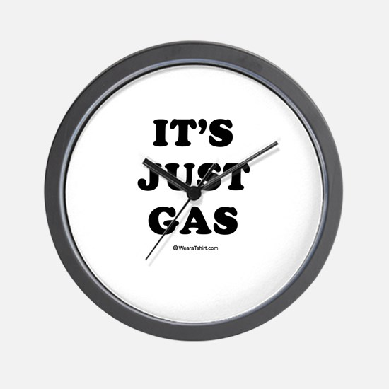 It's just gas / Baby Humor Wall Clock