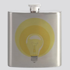 Edison Light Bulb Flask