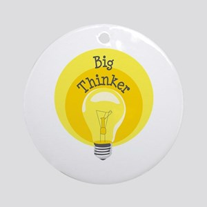 Big Thinker Ornament (Round)