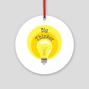 Big Thinker Ornament (Round)