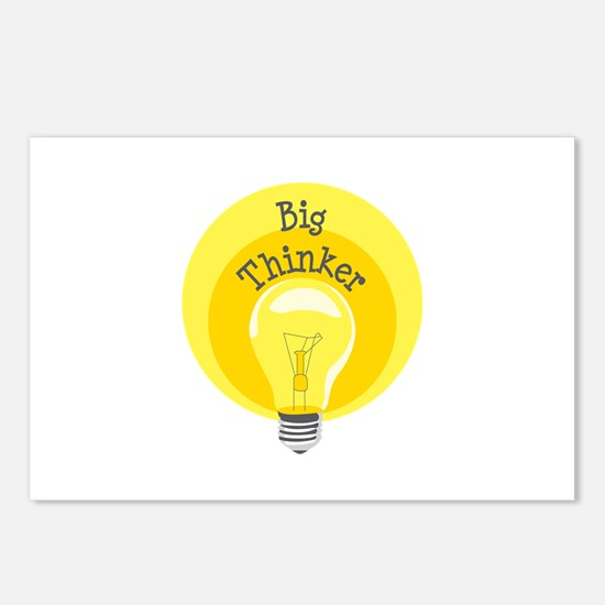 Big Thinker Postcards (Package of 8)