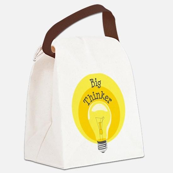 Big Thinker Canvas Lunch Bag